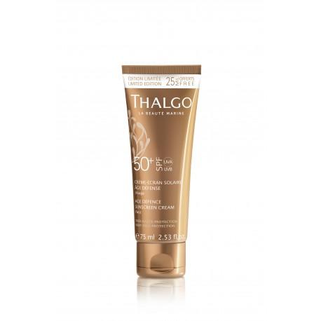 Thalgo Солнцезащитный гиалуроновый крем для лица SPF 50+ THALGO Age Defence SunScreen Cream SPF50+  75ml