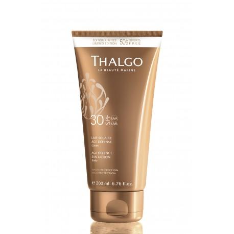 Thalgo Солнцезащитная Anti-Age эмульсия SPF30 THALGO Age Defence Sun Lotion Body 200ml