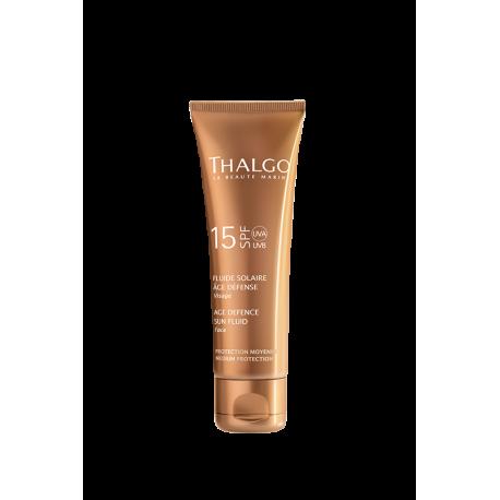 ТАЛЬГО Солнцезащитная эмульсия для лица SPF15  THALGO Age Defence Sunscreen Cream SPF15   50ml