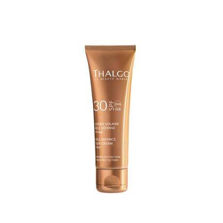 THALGO Солнцезащитный гиалуроновый крем для лица SPF30  THALGO Age Defence Sunscreen Cream SPF30   50ml