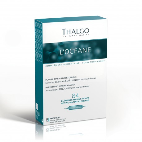 ТАЛЬГО Живительная морская вода  THALGO L'OceAne  Plasma Marin Hypertonique   20 ампул