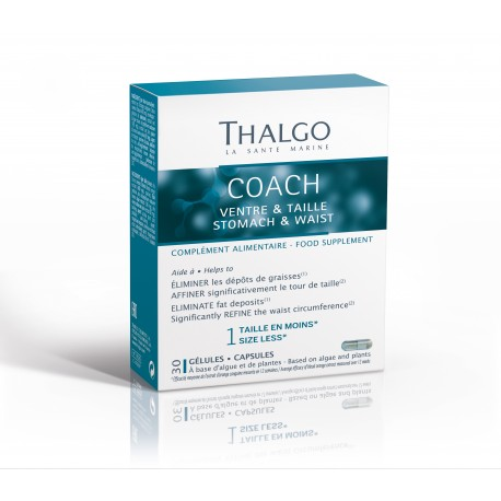 THALGO Коуч Живіт і талія  THALGO Coach Stomach & Waist  30 капсул